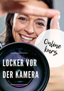 Onlinekurs Locker vor der Kamera mit Yvonne de Bark