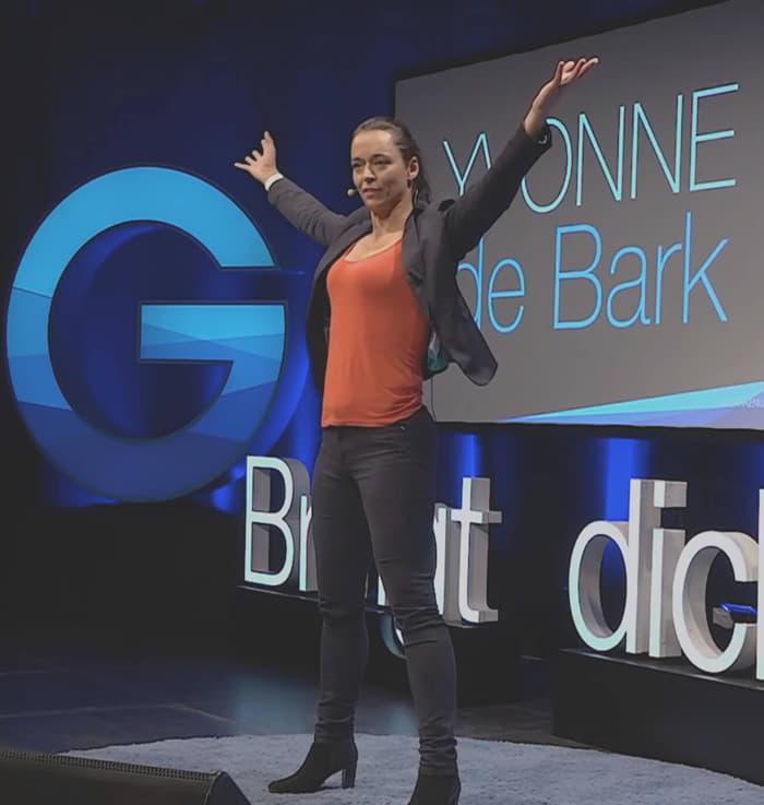 Vortragfoto Yvonne de Bark